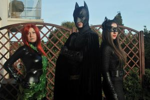 Batman group cosplay by Ophi89