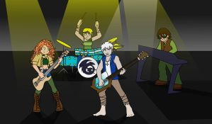 Let's Rock and Roll by GeminiEarthDragon