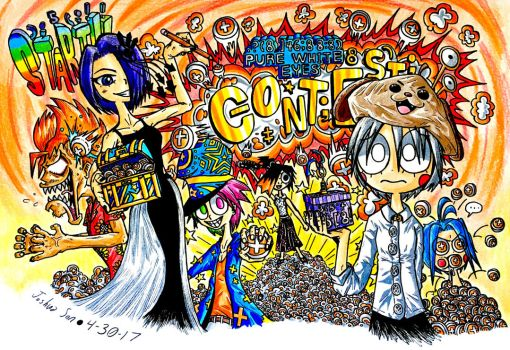 START!! The Pure White Eyes CONTEST!!! by Josh-S26