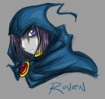 -Raven- by Dyemelikeasunset