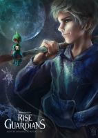 Jack Frost- Rise of the Guardians by lunakidz