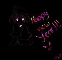 New Year Ghost by QisWhatsoever