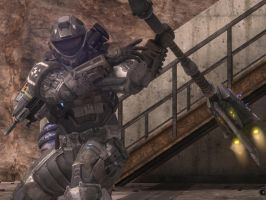 Halo Reach: coming for you by purpledragon104
