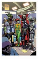 Zombie Dickheads Image Expo print final by ChrisMoreno