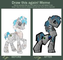 Draw Hex Again: Meme Used by KiraNightViolet
