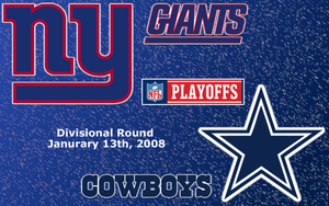 2008 Divisional Giants Cowboys by Zerakus