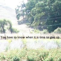 Day 302- Give Up by cowboyB0B