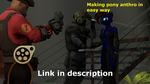 (How to use SFM)- Making anthro pony in easy way by grzes4000