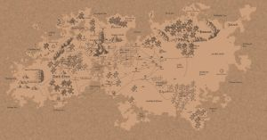 Cartography Natharus by king11fallen