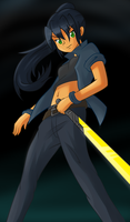 OC action stance [request] by Shingo-Hayasa
