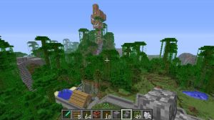 Minecraft Treehouse and House by Abyss1