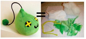MapleStory Plush Slime 3 by TheCurseofRainbow