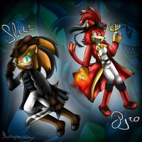 .:Burn'n'Slice(+Speedpaint):. by Kathy-the-echidna