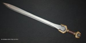 Foam and latex sword by Artyfakes