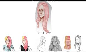 Improvement Meme: 2009-2014 (With a bit of advice) by CarlSagoArt