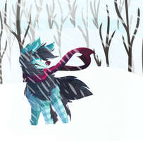 its a bit chilly by Nightfawn