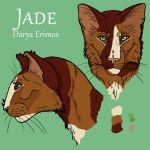 Jade mini-charactersheet by RiverRaven