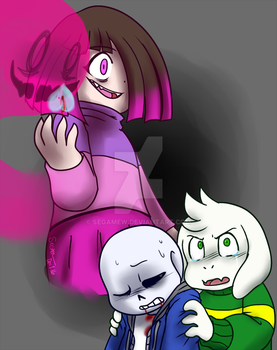.:Undertale:. She Took Our Sanshine Away by SEGAMew