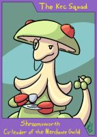 PMD-Explorers Trading Card - Shroomsworth by cavemonster