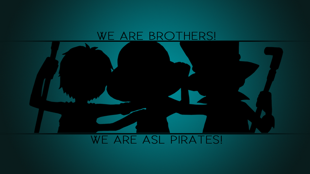 ASL | One Piece Wallpaper by dark-king-ace