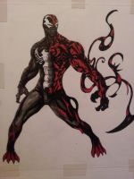 Spider Venom Carnage by killertomm