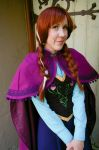 Frozen: Anna by nyunyucosplay