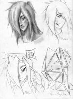 Styles Exercise for Art Design by GypsySquid