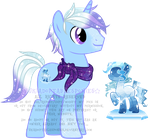 Ice Haze Custom Pony by YukiAdoptablesPonies