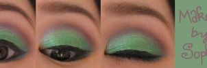 Green on eyes by Sophie-shoots
