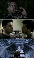 Ten Minutes Ago: Destiel by PsychPsych-o