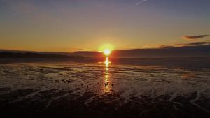 Strangford Lough Sun Risen! by dhc72