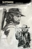 Red Dead Redemption II by CartoonCaveman