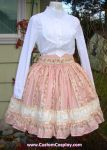 Bustle skirt front by The-Cute-Storm