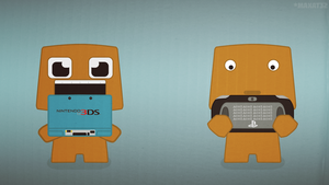 3ds VS PSVita by MaxatdesigN