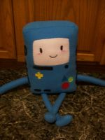 Beemo plushie by PollyRockets