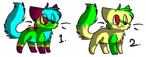 Cat Adoptables 4 .: CLOSED :. by LauraTheKitty