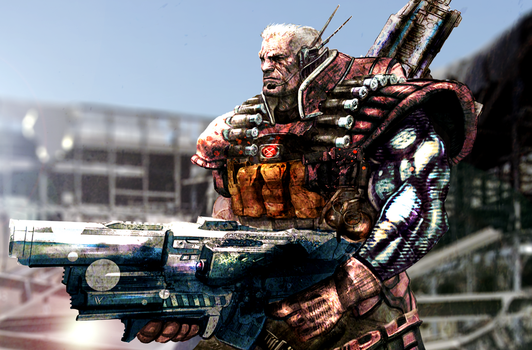 Cable Concept Art by ZachSatherArt