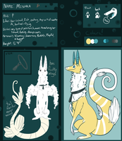 Mishka refsheet by Densetsugin
