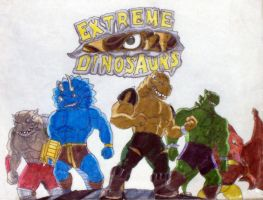 Extreme Dinosaurs by BennytheBeast