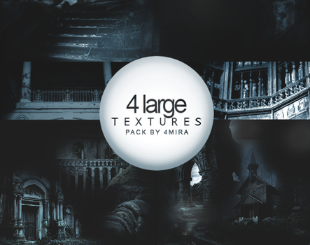 4 Large Texture Pack by 4mira