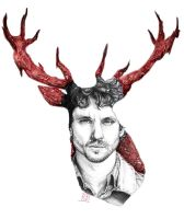 Will Graham - Hannibal by LornaKelleherArt