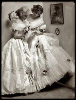Vintage fashionable ladies III by MementoMori-stock