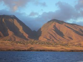 Maui Mountains by Reborn-In-Color