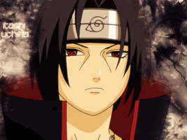 Itachi Uchiha Wallpaper by KuraDani
