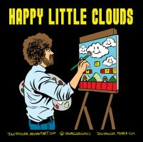 Happy Little Clouds by IanJMiller