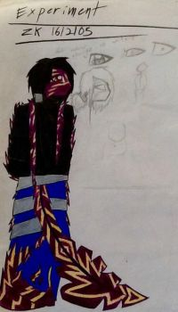 Old Art~ ZK's First Design by TheHalfblood