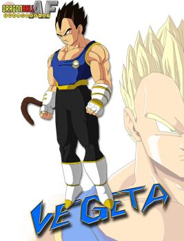 the great vegeta AF by ruga-rell