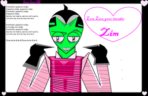 Love Love Zim by Nightmaremoon108