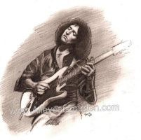 Richie Blackmore by Alleycatsgarden