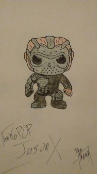 Funko POP Jason X by TheFreaKofficial